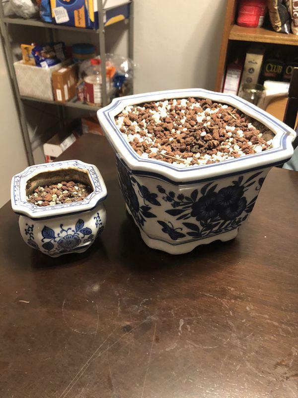Matching Flower Pots