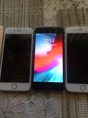 iPhone 6 unlocked (3) for Sale in San Bernardino, CA