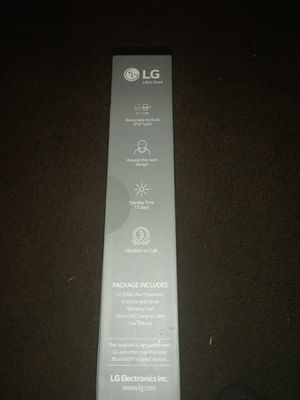 LG TONE Ultra bluetooth headset for Sale in Denver, CO