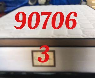 "12"" Thick foam encase pillow top mattress. Free delivery. Twin Mattress only-$199 Mattress & box spring-$235 Full Mattress only-$265 Mattress and for Sale in Lakewood,  CA"