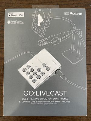 Roland Go:Livecast for Sale in Portland, OR
