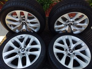 "18"" genesis staggered wheels... Tires.. for Sale in Gardena, CA"