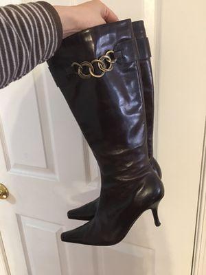 ALDO brown boots( 7 1/2 size) for Sale in Fairfax, VA