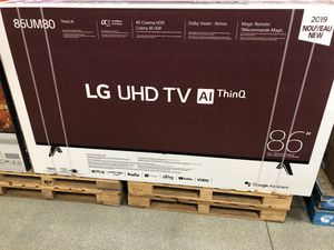 86 LG SMART 4K TV SALE for Sale in Pasadena, CA