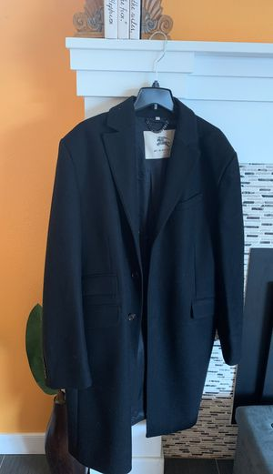 Men's Burberry London jacket size 58 for Sale in Everett, WA