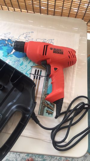 Black and decker electric drill tool for Sale in Honolulu, HI