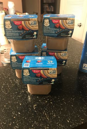 Free baby food for Sale in Tampa, FL