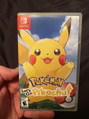 Pokemon Lets Go Pikachu! - Nintendo Switch for Sale in Anaheim, CA