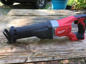MILWAUKEE 2621-20 SAWZALL RECIPROCATING SAW for Sale in Tucker, GA