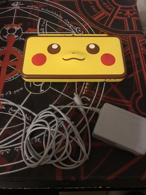 Nintendo 2DS XL Pikachu Edition + Charger for Sale in New York, NY