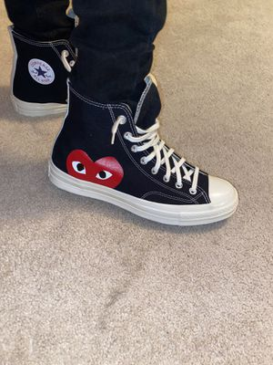 comme des Garcons converse, for sale, size 9 for Sale in Washington, DC