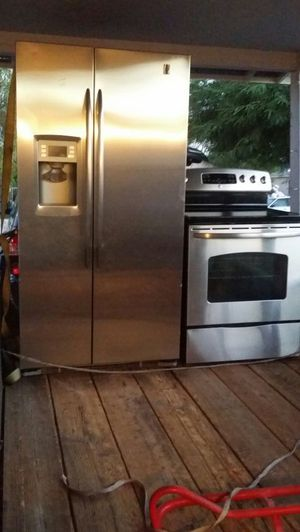 G.e.profile stainless set for Sale in Phoenix, AZ