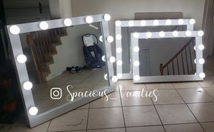 Lowest price! Makeup vanity mirror 36x42 for Valentines Day for Sale in Highland, CA