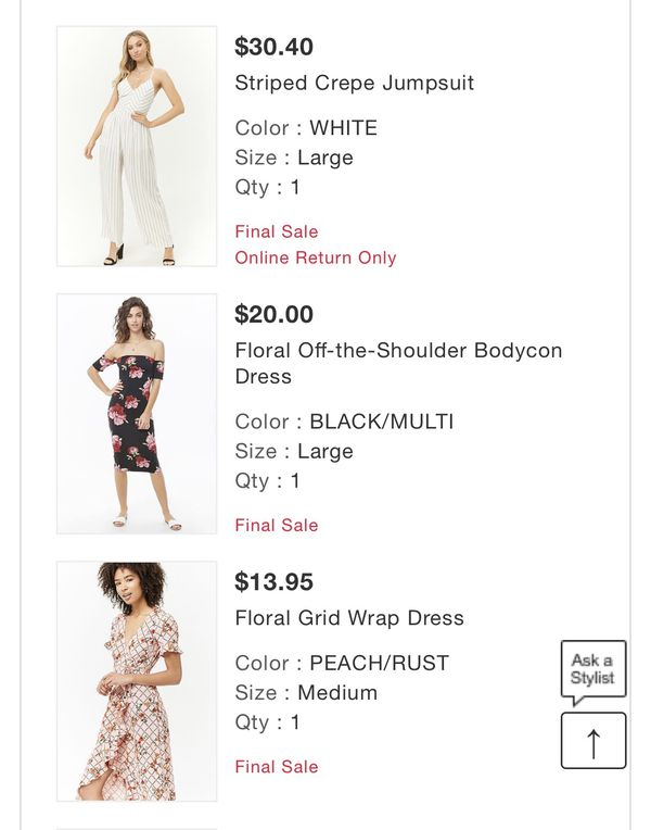 Lot of Forever21 Clothing Items $100