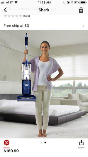 Shark NV105 Navigator Light Vacuum for Sale, used for sale  Jersey City, NJ