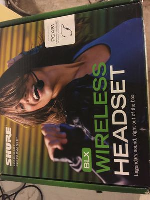 Profesional wireless headset new for Sale in University City, MO