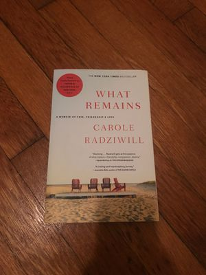 What Remains by Carole Radziwill for Sale in Boston, MA