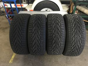 They are a $200 tire new tires have 10/32 tread left on them they've been running for about 1800 mile one winner selling all four for 500 like new th for Sale in Linden, PA
