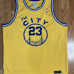 Authentic Golden State Warriors Jason Richardson Reebok Throwback Jersey for Sale in Los Angeles, CA