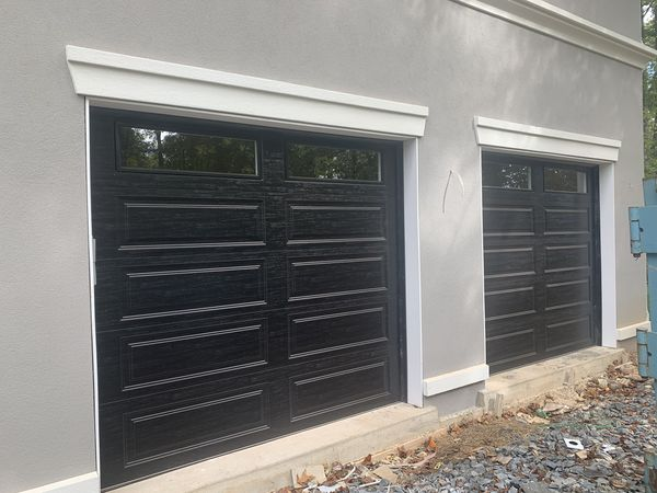 Garage doors just installed at good price