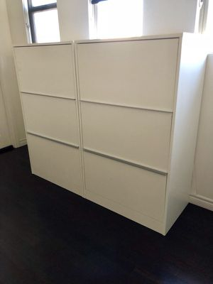 "Two kinda large white covered ""bookcases"" for Sale in San Diego, CA"