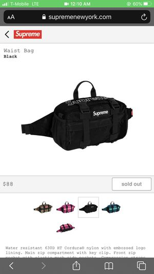 2019 supreme waist bag for Sale in Queens, NY