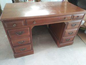 Wooden desk for Sale in Dania Beach, FL