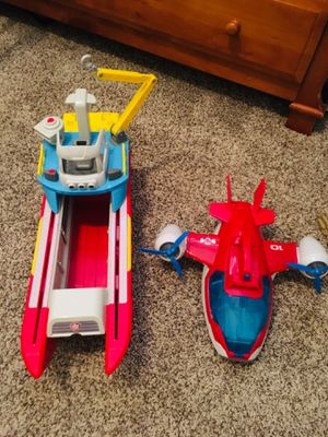 Paw Patrol Sea & Air Patrollers-Kids Toy for Sale in Arlington, TX