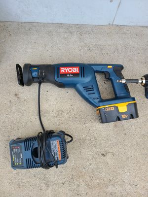 Ryobi Sawzall and drill for Sale in Queens, NY