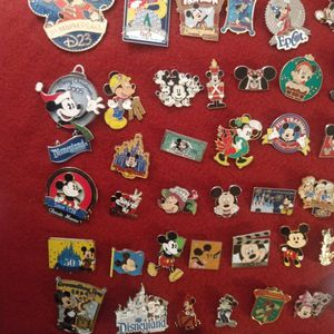 Official Disney Pins About 300 All together.!! for Sale in Seattle, WA