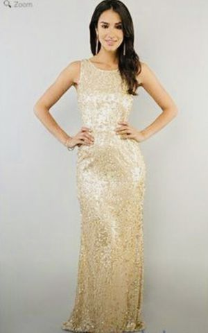 Gold Sequin Dress for Sale in Yeadon, PA