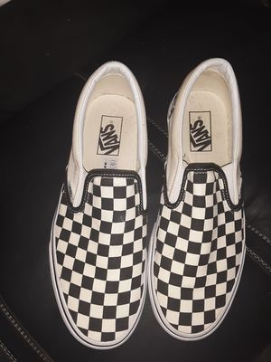 Checkerboard design Vans for Sale in Huntsville, AL