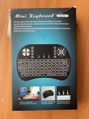 Mini Wireless Keyboard Mouse Combo for Sale in Bakersfield, CA