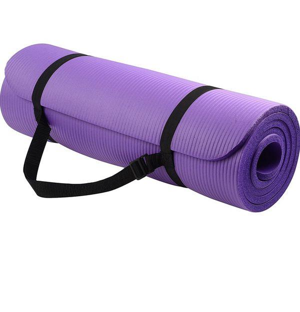 Balance Yoga All Purpose 1/2 Inch Extra Thick Mat