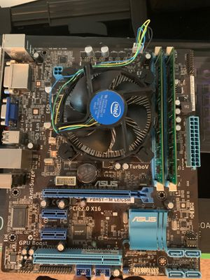 PC Parts Combo (CPU + Motherboard + Ram) for Sale in Warsaw, IN