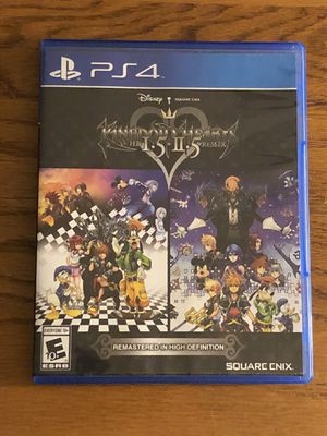 Kingdom Hearts HD 1.5 + 2.5 Remix for Sale in Apple Valley, CA