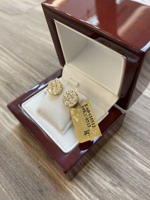 10k diamond earings 1.55 CTW VVS Diamonds for Sale in Plano, TX