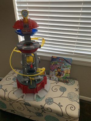 Paw patrol tower )toys and book not included) for Sale in Tampa, FL