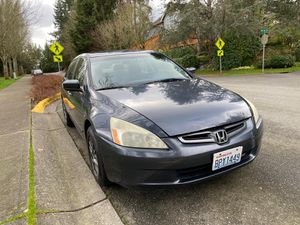 2005 Honda Accord Clean Title for Sale in Redmond, WA