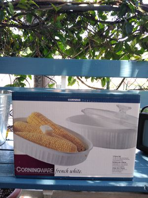 CORNINGWARE 3-PIECE OVAL SET for Sale in Paramount, CA