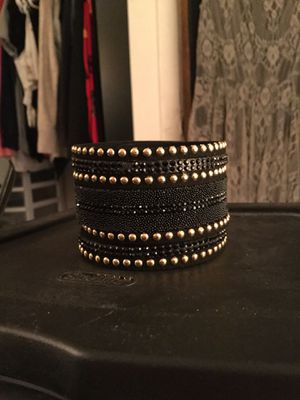 Black and Gold Wrap Bracelet for Sale in Chicago, IL