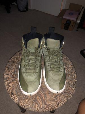 """Air Jordan Retro 12 """"Olive Green"""" for Sale in Arlington, TX"""