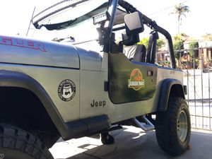 Jeep Wrangler 95 4 cilynders gas saver willing to trade for a newer truck for Sale in San Diego, CA