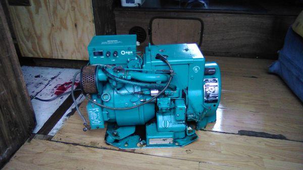 Onan 3 K generator mildly used