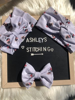 Minnie Mouse 🐭 bow headband for Sale in Industry, CA