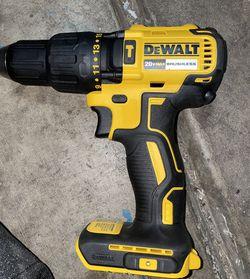 dewalt 20v brushless hammer drill brand new TOOL ONLY sin pilas ni cargador $60 FIRM for Sale in Las Vegas,  NV