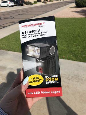 DSLR camera flash for Sale in Goodyear, AZ