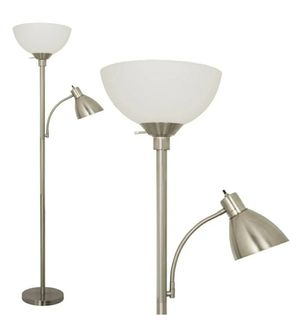 Floor Lamp With Side Reading Light for Sale in Sunrise, FL