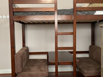 Solid Wood Convertible Bunk Bed for Sale in Silver Spring,  MD