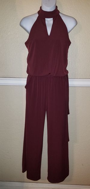 Inc Internacional brand name overall dress size small petite burgundy color NWOT for Sale in El Monte, CA